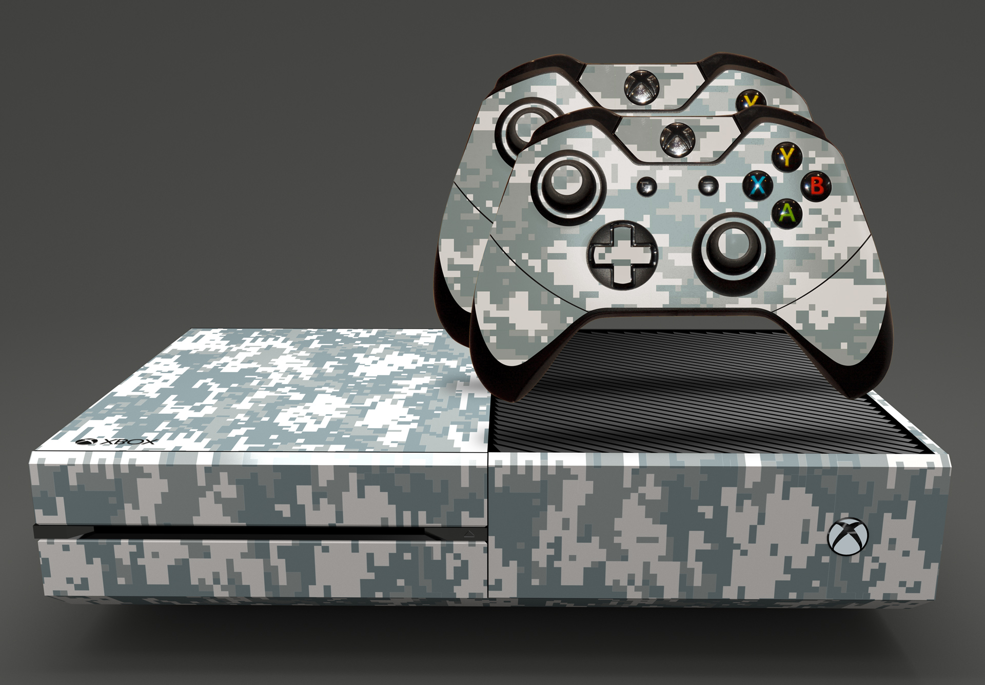 E Skins Xbox One Gaming Console Skin Us Military Digital