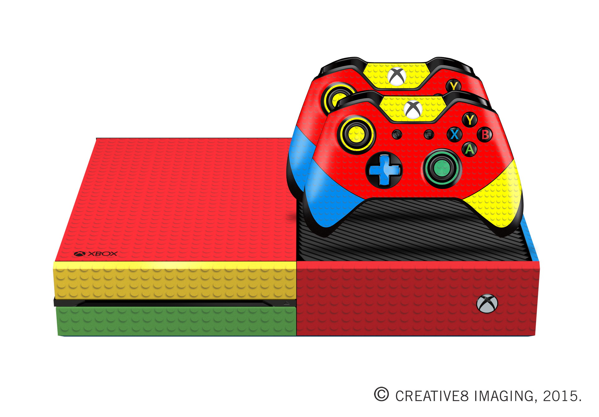 Home Decor 101 E Skins Xbox One Gaming Console Skin Brick Builders Block