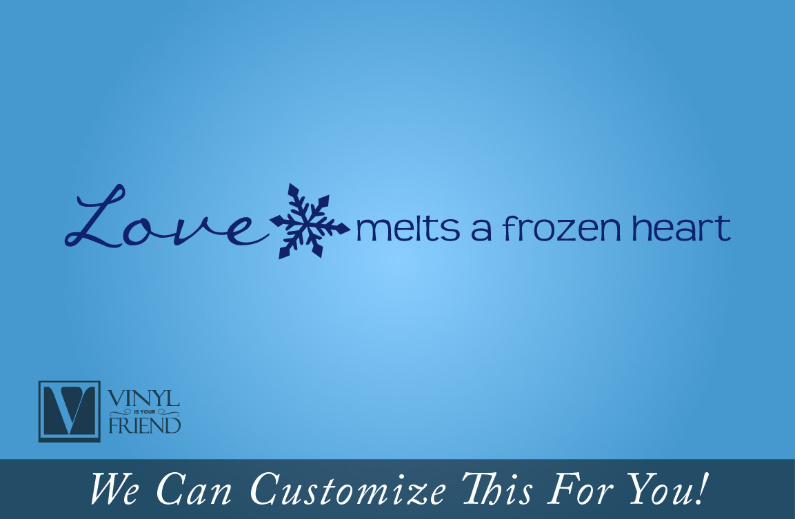 Snowflake Love Quotes Love Melts A Frozen Heart With Snowflake Frozen Movie Quote  A