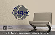 Custom Family name Carson family since year personalize for your family - a wall decor vinyl lettering decal graphic 2232