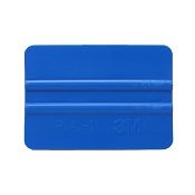 Squeegee application tool for vinyl and decals made by 3m 4 inch long blue 1b30