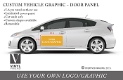 Your Logo or Graphic custom vehicle graphic door panel vehicle graphic 2512