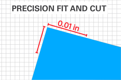 precision fit and cut