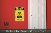 CAUTION Storm trooper safety helmet vinyl decal sign digital print 2500
