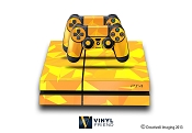 E-SKINS Play Station 4 (ps4) gaming console skin poly pattern 1 decals
