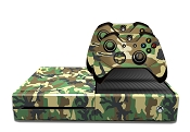 E-SKINS Xbox One gaming console military camo traditional decals