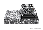 E-SKINS Xbox One gaming console skin Urban Digital Military Camo pattern decals