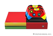 E-SKINS Xbox One gaming console skin Brick Builders block themed decals