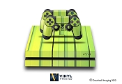E-SKINS Play Station 4 (ps4) gaming console skin 3d tile trips decals