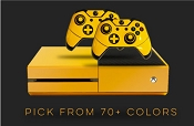 Color series- E-SKINS Xbox One gaming console and controller skin decals