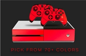 Multi Color series - E-SKINS Xbox One gaming console and controller skin decals