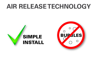 air release - no bubbles
